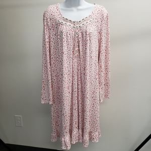 Aria Collection Floral Nightgown Size XL